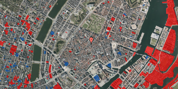 Jordforureningskort på Købmagergade 46, 3. , 1150 København K