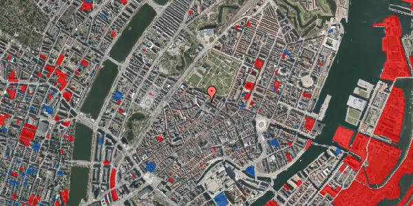Jordforureningskort på Vognmagergade 11, 3. tv, 1120 København K