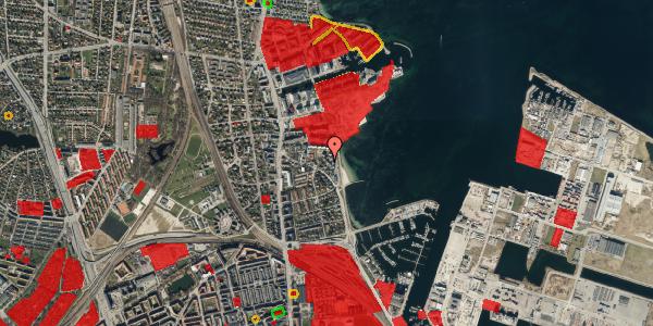 Jordforureningskort på Strandpromenaden 65, 2100 København Ø