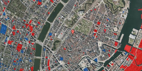 Jordforureningskort på Rosenborggade 1A, 1. , 1130 København K