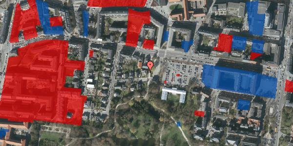 Jordforureningskort på Andebakkesti 6, 2000 Frederiksberg