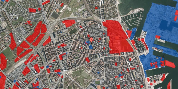 Jordforureningskort på Masnedøgade 32, st. tv, 2100 København Ø