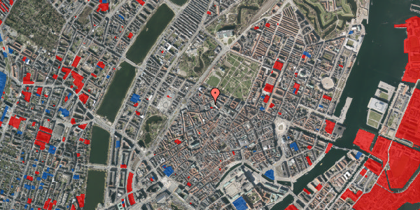 Jordforureningskort på Hauser Plads 5, 1127 København K