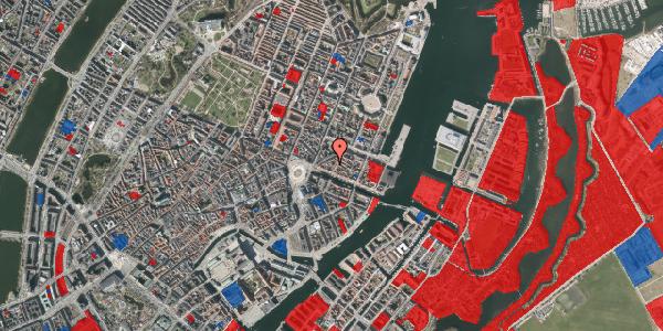 Jordforureningskort på Nyhavn 11C, 1. , 1051 København K