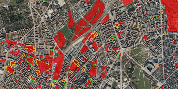 Jordforureningskort på Vermundsgade 40, 2. th, 2100 København Ø