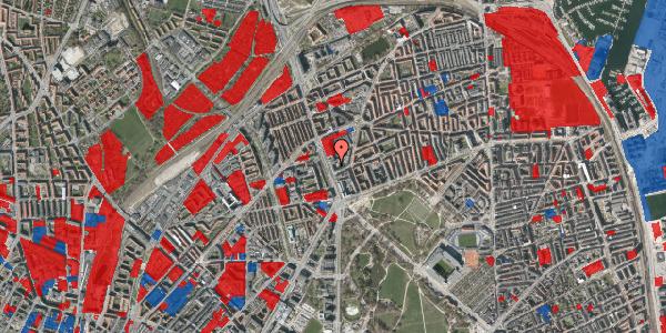 Jordforureningskort på Lyngbyvej 18, 1. , 2100 København Ø