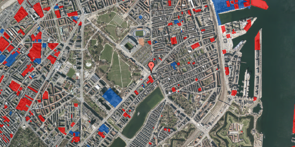 Jordforureningskort på Trianglen 8, 2100 København Ø