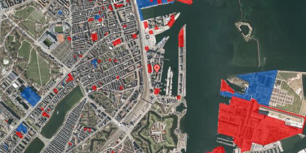 Jordforureningskort på Amerika Plads 5, 2100 København Ø