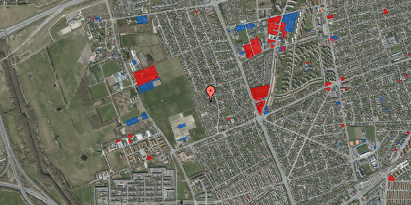 Jordforureningskort på Hf. Dahlia 40, 2650 Hvidovre