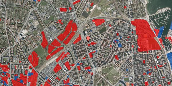 Jordforureningskort på Æbeløgade 27, 5. tv, 2100 København Ø