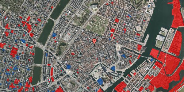 Jordforureningskort på Købmagergade 48A, 1. 1, 1150 København K