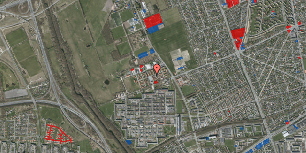Jordforureningskort på Alarmpladsen 4, st. tv, 2650 Hvidovre
