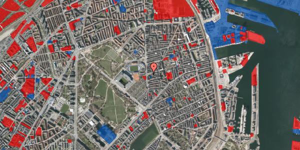 Jordforureningskort på Sankt Jakobs Plads 8, 2100 København Ø