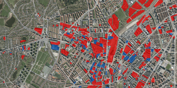 Jordforureningskort på Glasvej 29, 2. th, 2400 København NV
