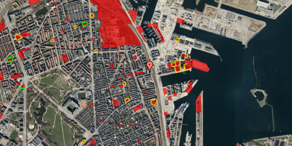 Jordforureningskort på Hjørringgade 37, 1. tv, 2100 København Ø