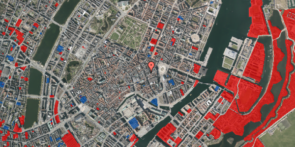 Jordforureningskort på Østergade 26C, 3. , 1100 København K