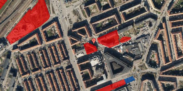 Jordforureningskort på Æbeløgade 13, 4. , 2100 København Ø
