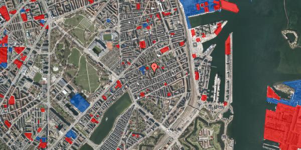 Jordforureningskort på Saabyesvej 8, 1. th, 2100 København Ø