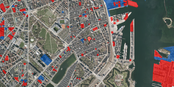 Jordforureningskort på Saabyesvej 8, 2. th, 2100 København Ø