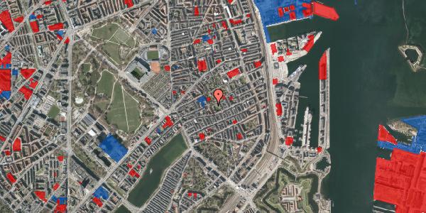 Jordforureningskort på Saabyesvej 10, st. tv, 2100 København Ø