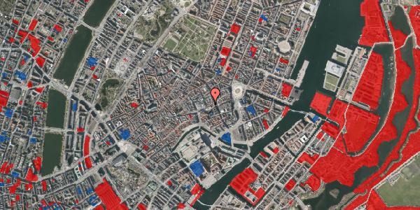 Jordforureningskort på Østergade 42A, 3. , 1100 København K