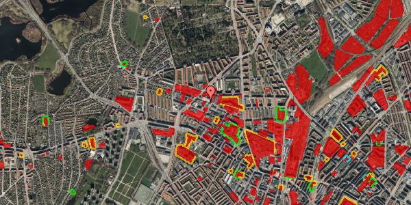 Jordforureningskort på Dortheavej 39A, st. , 2400 København NV