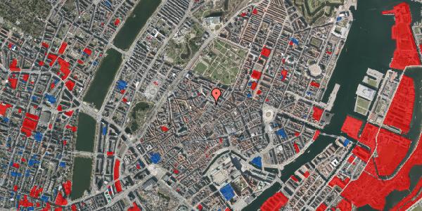 Jordforureningskort på Købmagergade 50F, 1150 København K