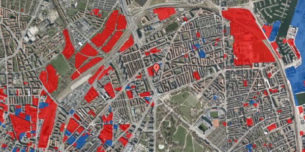Jordforureningskort på Lyngbyvej 22, 3. , 2100 København Ø