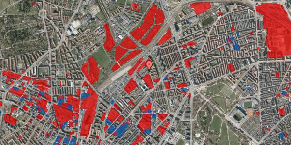 Jordforureningskort på Emblasgade 107, 1. tv, 2100 København Ø