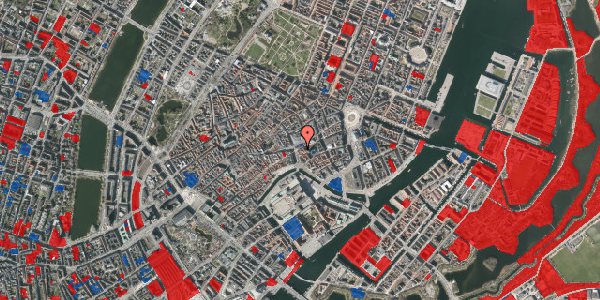 Jordforureningskort på Store Kirkestræde 3, 3. mf, 1073 København K
