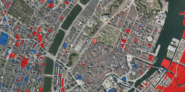 Jordforureningskort på Rosenborggade 1C, 1130 København K
