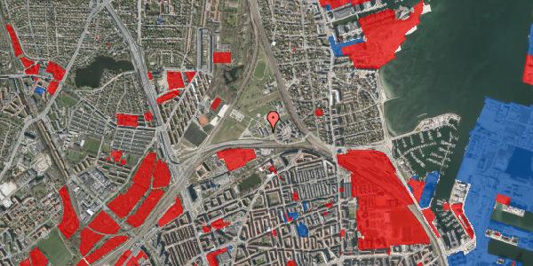 Jordforureningskort på Svanemøllens Kaserne 91, 2100 København Ø