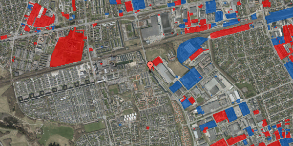 Jordforureningskort på Stenkløvervænget 21, 2625 Vallensbæk