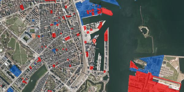 Jordforureningskort på Amerika Plads 38, 3. , 2100 København Ø