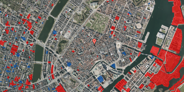 Jordforureningskort på Løvstræde 4B, 5. , 1152 København K