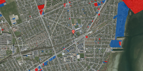 Jordforureningskort på Achilles Alle 14B, 2650 Hvidovre