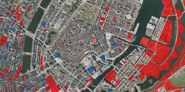 Jordforureningskort på Store Kirkestræde 1B, 4. mf, 1073 København K