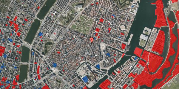 Jordforureningskort på Gammel Mønt 9, 1117 København K