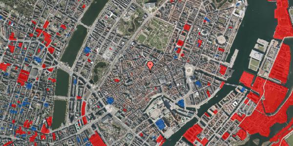 Jordforureningskort på Løvstræde 8A, 1. , 1152 København K