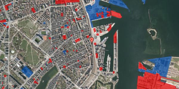 Jordforureningskort på Østbanegade 87, 2100 København Ø