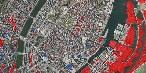 Jordforureningskort på Gammel Mønt 8, 1117 København K