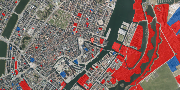 Jordforureningskort på Nyhavn 6A, 1. , 1051 København K