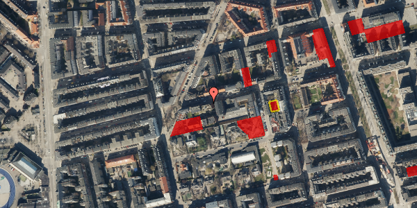 Jordforureningskort på Viborggade 46, 3. , 2100 København Ø