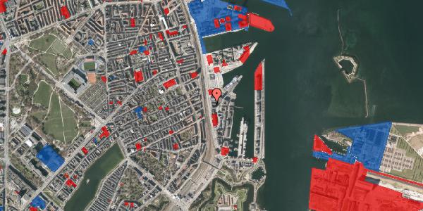 Jordforureningskort på Kalkbrænderihavnsgade 4C, 3. tv, 2100 København Ø