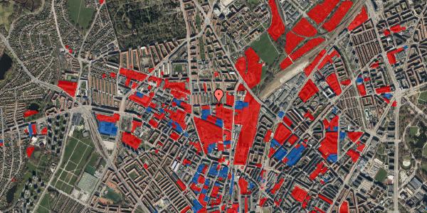 Jordforureningskort på Bygmestervej 21B, 3. th, 2400 København NV