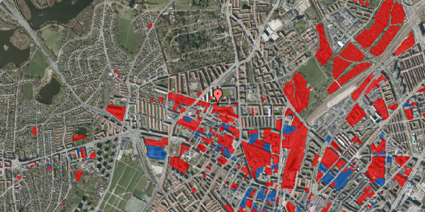 Jordforureningskort på Birkedommervej 27, st. , 2400 København NV