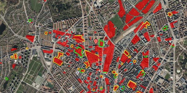 Jordforureningskort på Bygmestervej 21A, 2. th, 2400 København NV
