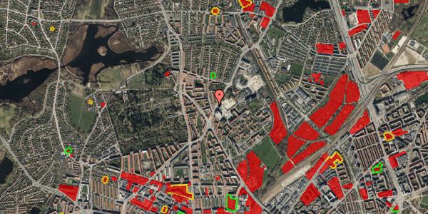 Jordforureningskort på Peter Rørdams Vej 2E, 2400 København NV