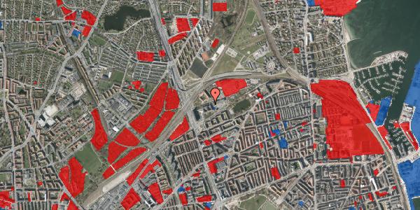 Jordforureningskort på Borgervænget 3, 2. , 2100 København Ø