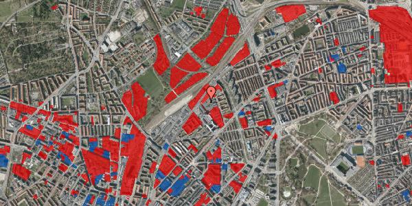 Jordforureningskort på Emblasgade 13, st. , 2100 København Ø